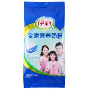 伊利 全家营养奶粉 300g 折9.9元(19.9, 199-100)