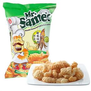Mr.Samee 三美先生 芥末鱿鱼味卷 70g 6.4元