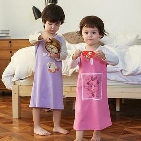 阳光圣婴 儿童秋季睡袍 6款可选 券后29元包邮