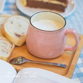 zaka zaka 创意日式清新早餐杯 送勺子 7.9元包邮