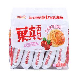 达利园 菓真面包 蔓越莓风味 330g 折9.4元(买1送1)