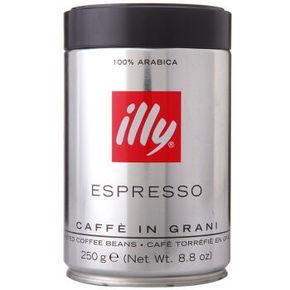 Illy 意利 浓缩咖啡豆深度烘焙250g*2瓶+凑单 99元包邮