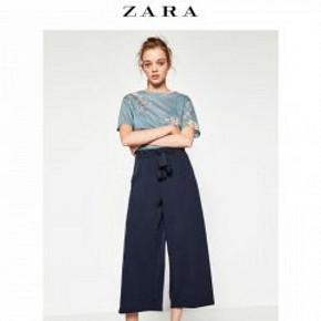 ZARA TRF 女装宽管七分裤 99元包邮