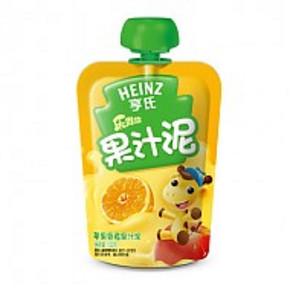 亨氏 乐维滋 果汁泥 苹果香橙 120g 0.01元