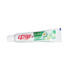 中华 花清护百合味牙膏 40g 1元