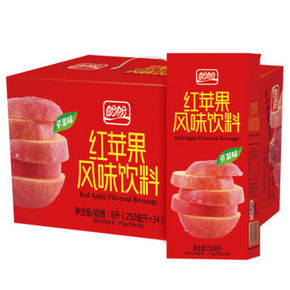 盼盼 红苹果 250ml*24盒 19.9元
