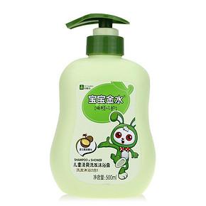 宝宝金水 儿童清爽洗发沐浴露 500ml 折14元(28,199-100)