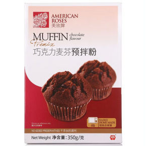 美玫 巧克力麦芬预拌粉 350g 9.9元