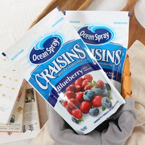 Ocean Spray 优鲜沛 蔓越莓干蓝莓味 142g 5元
