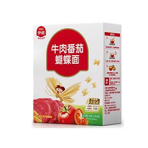 宝贝爱吃# Eastwes 伊威 牛肉番茄蝴蝶面 200g 19.9元