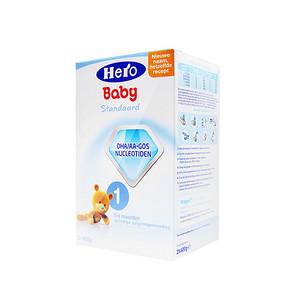 Hero Baby 婴幼儿奶粉 1段 800g 64.9元包邮(58+6.9)