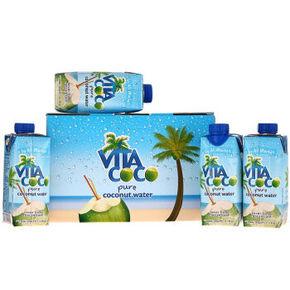 唯他可可 天然椰子水饮料 330ml*4瓶 29.9元
