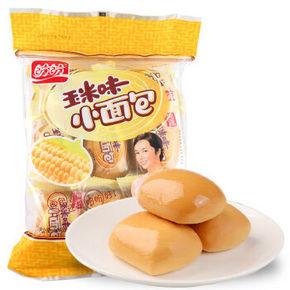 盼盼 玉米味小面包 320g 折6.4元(5件5折)