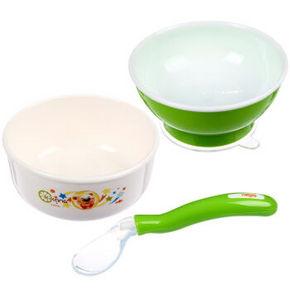 日康 宝宝餐具用品三件套 折27.4元(39.9,159-50)