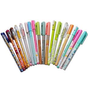 得力思达 创意学生文具签字笔 12支混搭 9.9元包邮