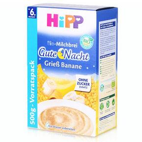 HIPP 喜宝 香蕉燕麦晚安晚餐迷糊  6个月以上 500g 55元