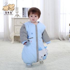 汤米鼠 秋冬婴幼儿纯棉加厚分腿睡袋 39元包邮(69-30券)