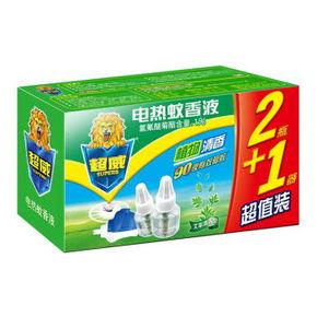 超威 植物清香电蚊香液 40ml*2瓶+加热器套装 14.9元