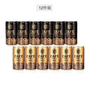 易买得 emart 美式咖啡 中度烘焙咖啡 175ml 12瓶 19.9元