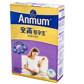 Anmum 安满 孕产妇妈妈奶粉 300g 折33.3元(99.9选3件)