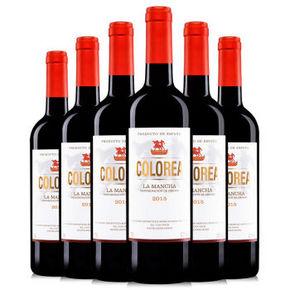 西班牙进口 圣罗兰萨·卡洛奥红葡萄酒 750ml *6瓶 99元包邮