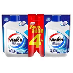 Walch 威露士 有氧洗洗衣液 2kg*4袋 55.8元包邮(52.9,99-50)