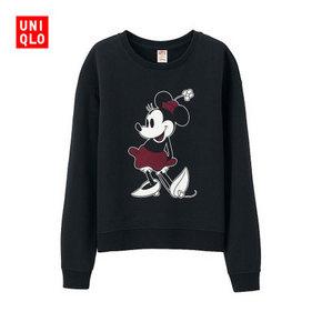 UNIQLO 优衣库 米奇女士运动卫衣 99元
