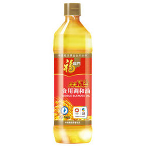 福临门 天天五谷食用调和油 900ml 11.9元