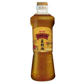 金龙鱼 非转基因 外婆乡小榨菜籽油 700mL 12.9元