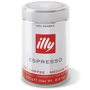 意大利进口 Illy意利 中度烘培咖啡粉 250g 折37元(买3免1)