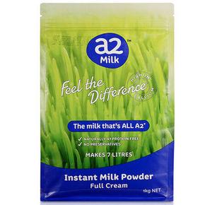 澳洲 a2 全脂高钙成人奶粉1kg 42元(36.9+5.1)
