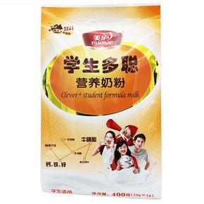 美庐 学生多聪 营养奶粉 400g 19.8元