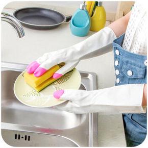 居乐美 厨房清洁手套 3双装 9.9元包邮