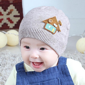 卡卡百分百 宝宝针织毛线帽 10款可选 券后7.8元包邮