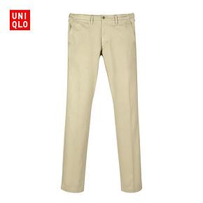 UNIQLO 优衣库 洗旧无褶直筒长裤 149元