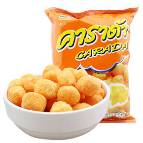 卡啦哒 奶酪味米球 60g 1.9元