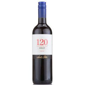 智利进口 桑塔丽塔 120梅洛红葡萄酒 750ml 49元