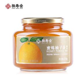 恒寿堂 蜜炼柚子茶 850g 折19.9元(39.9,2件5折)