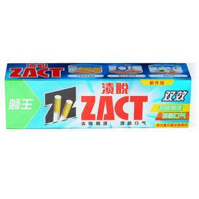狮王 渍脱牙膏 双效型 90g 折5元(199-100)