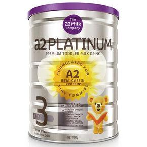 澳洲 a2 白金婴幼配方奶粉 3段 900g 折115元(买4免1)
