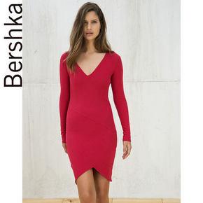 Bershka 女士非对称连衣裙 59元包邮