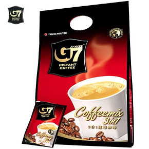 越南进口 G7 中原三合一速溶咖啡 800g 29.9元
