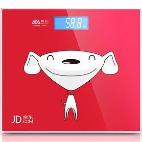 香山 EB578R 京东定制限量款电子称人体秤 26.9元