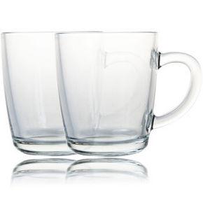 喜碧 无铅玻璃杯 360ml*2只 9.9元