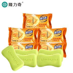 隆力奇 蛇胆硫磺皂 80g*5个 6.9元包邮(9.9-3券)