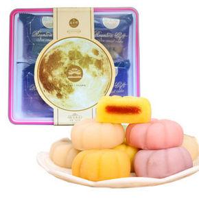 品至尊 麻薯糕点 圆月冰皮饼 180g*2盒 9.9元