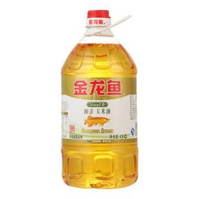 金龙鱼 纯正玉米油 4L 39.9元