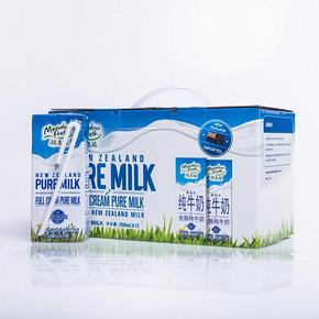 纽麦福 原装进口全脂牛奶 250ml*12盒 29.9元