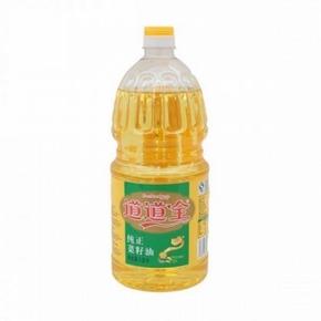 道道全 纯正菜籽油1.8L 19.9元包邮
