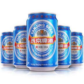 燕京啤酒 11度 蓝听听罐装 330ml*24听 39元